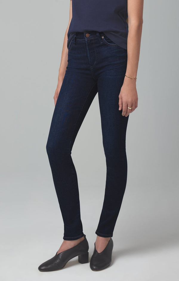 rocket mid rise skinny fit galaxy back