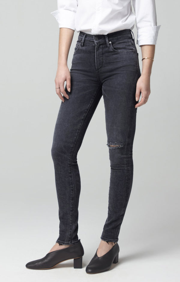 rocket mid rise skinny fit lithe back