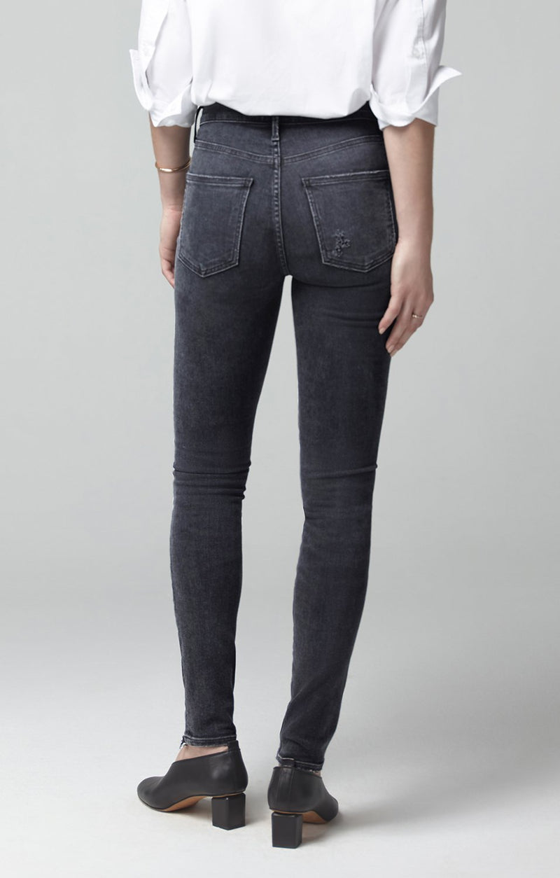 rocket mid rise skinny fit lithe side
