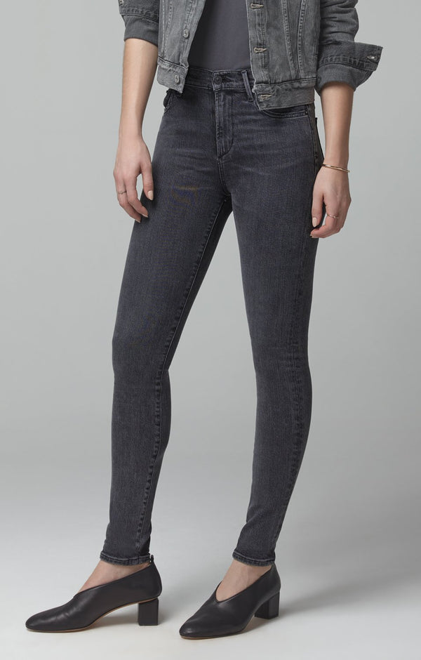 rocket mid rise skinny fit sonder back