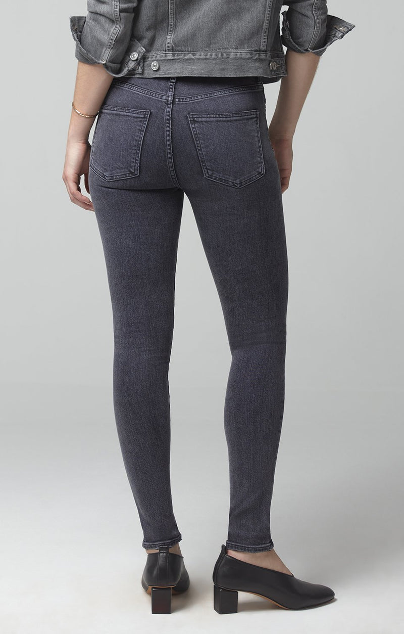 rocket mid rise skinny fit sonder side