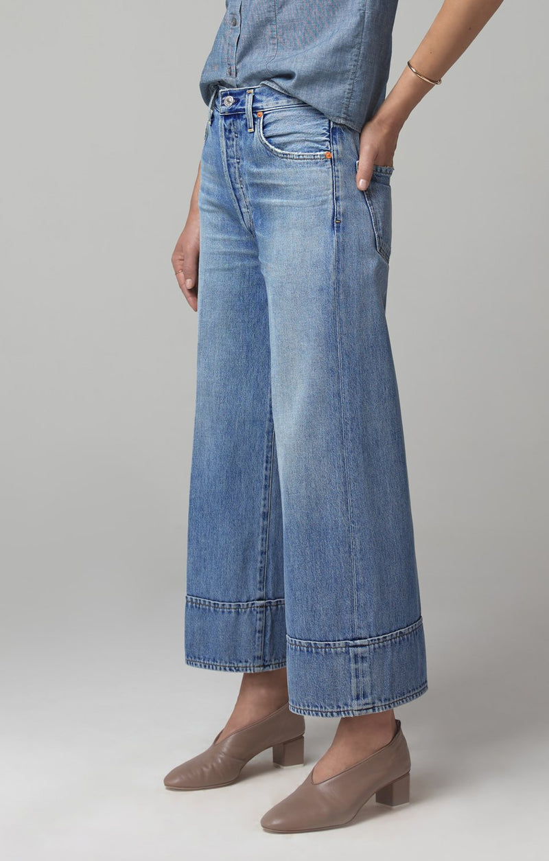 tilda high rise wide leg farewell back