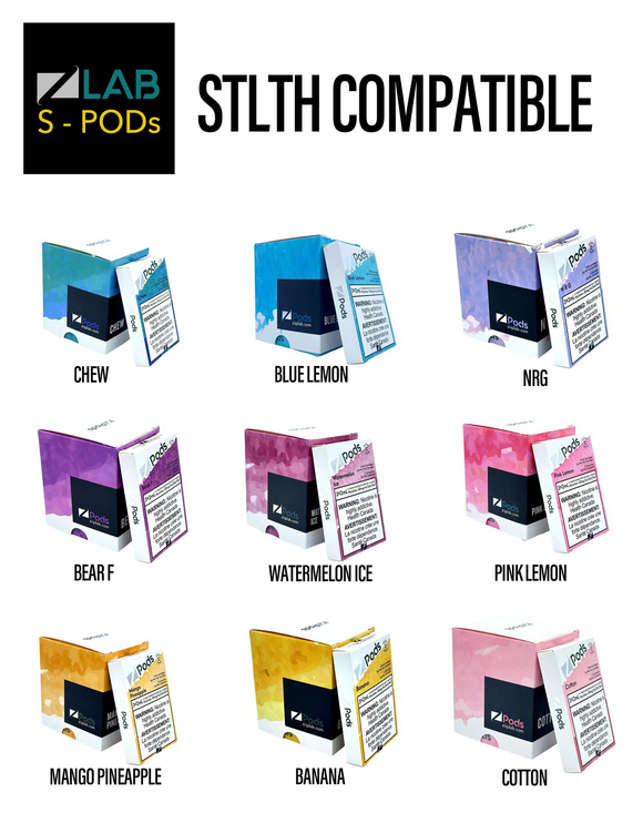 Z Pods STLTH Compatible