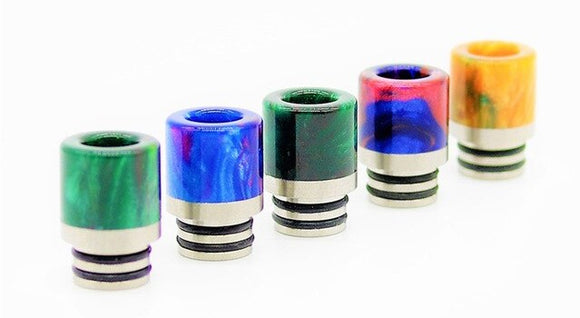 510 Thread Drip Tips - Silver Bridge Vapes