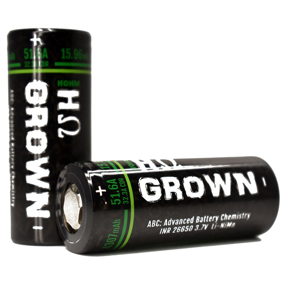 Hohm Tech GROWN 26650 Battery