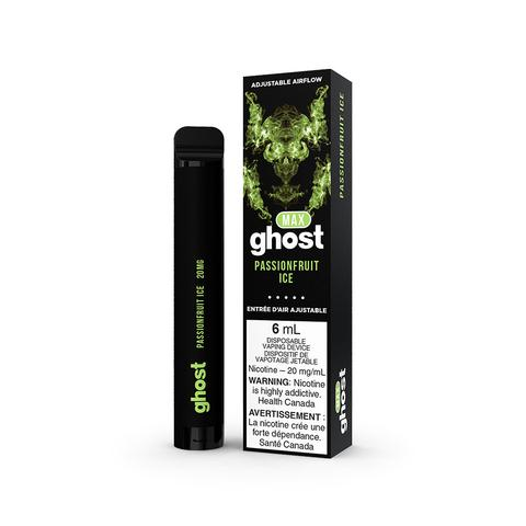 GHOST MAX DISPOSABLE - Passionfruit Ice