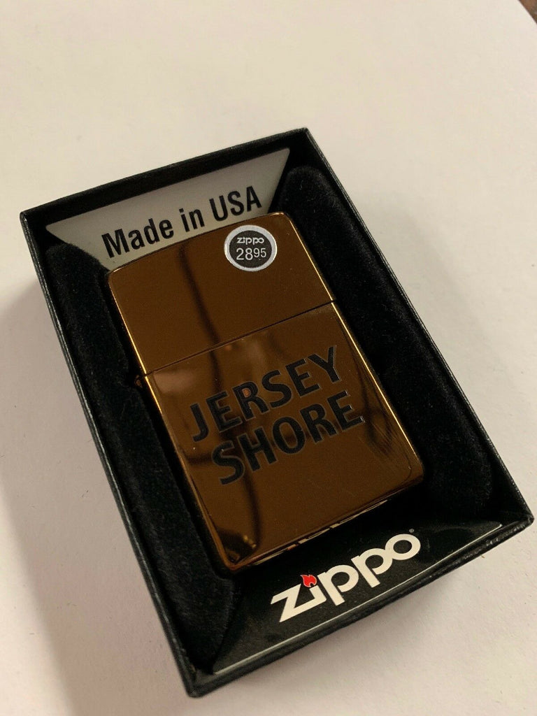 Zippo Lighter Jersey Shore 20447 New - All Mixed Up