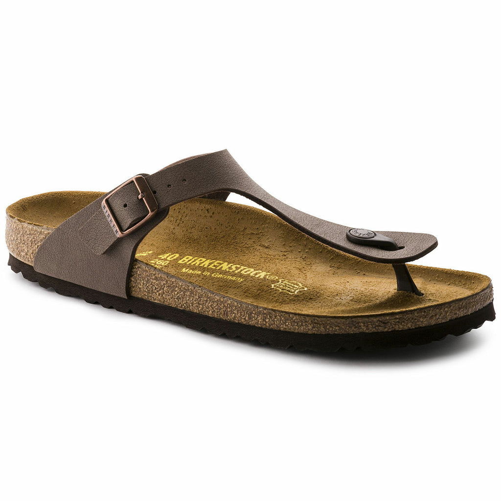 NEW Birkenstock Gizeh Mocha Womens Traditional Footbed - All Mixed Up
