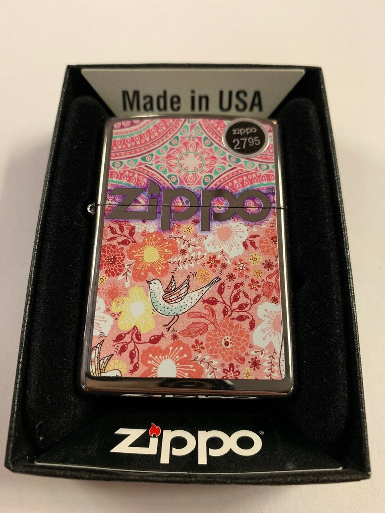 Zippo Lighter Boho 4 28861 New - All Mixed Up