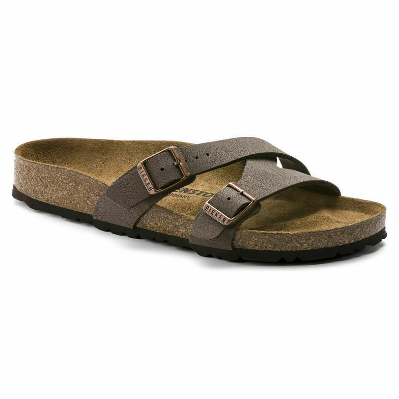 Birkenstock Yao Balance Mocha Womens Traditional Footbed - All Mixed Up
