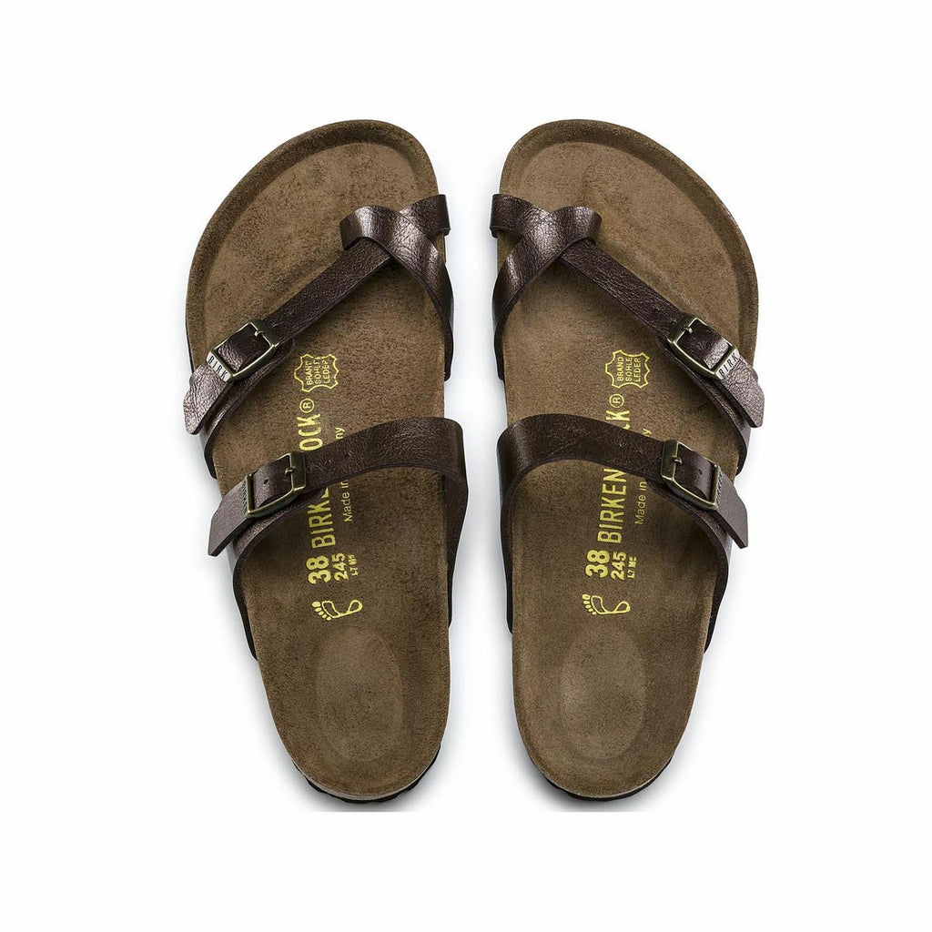 Birkenstock Mayari Toffee Womens Traditional Footbed - All Mixed Up