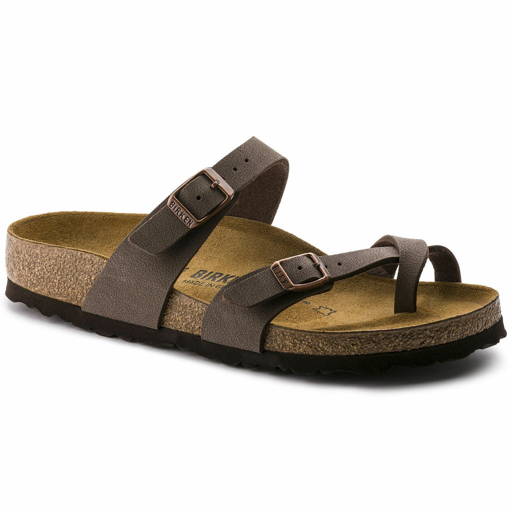 Birkenstock Mayari Mocha Womens Traditional Footbed - All Mixed Up