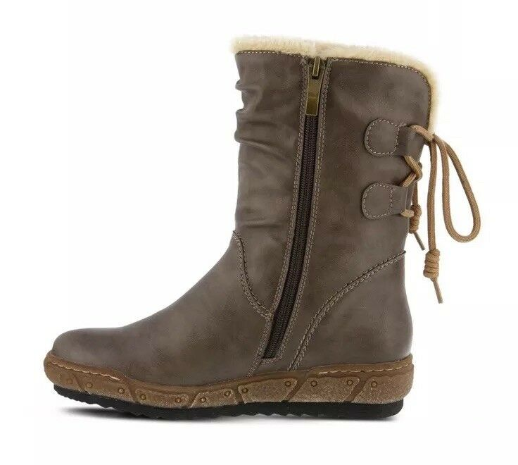 SPRING STEP FELLY BOOT Womens Taupe EU 41 - All Mixed Up