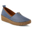 "Spring Step Women's TISPEA SLIP ON LOAFER ""Blue"" - All Mixed Up"