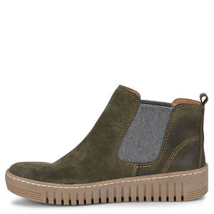 Comfortiva Align Hartley Olive Suede (Women's) - All Mixed Up