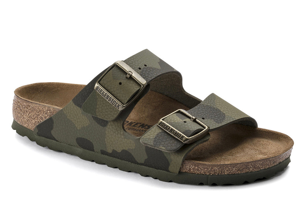 Birkenstock Arizona Camo Green Women's BirkoFlor - All Mixed Up