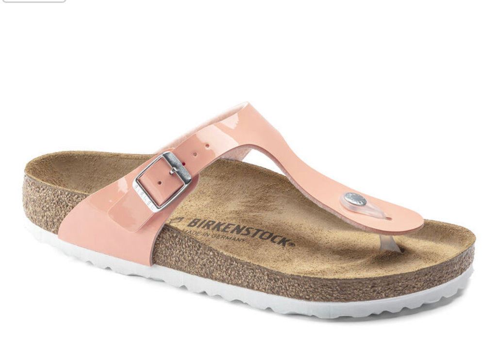 Birkenstock Women's Gizeh Coral Peach - All Mixed Up