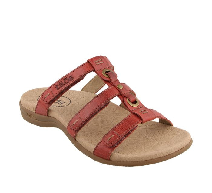 "Taos Nifty ""Red"" Women's Sandal - All Mixed Up"