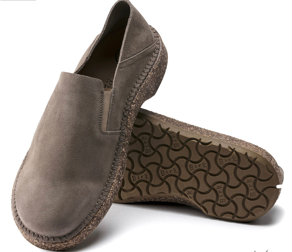 Birkenstock Callan Gray Taupe Men's Shoes - All Mixed Up