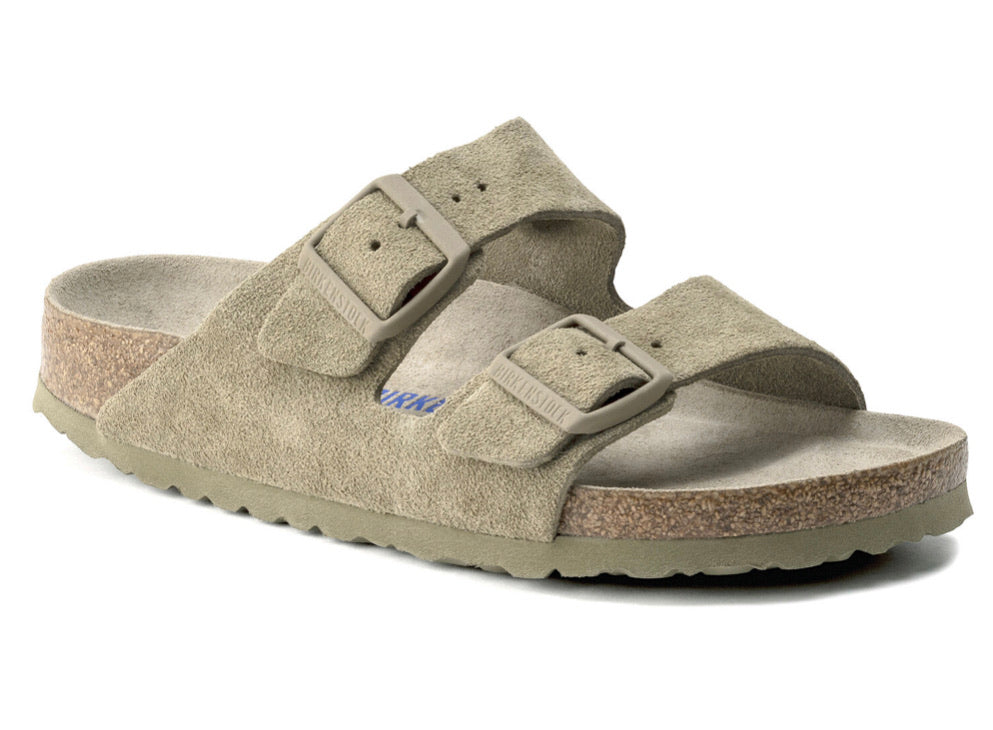 Birkenstock Arizona Faded Khaki Arizona - All Mixed Up