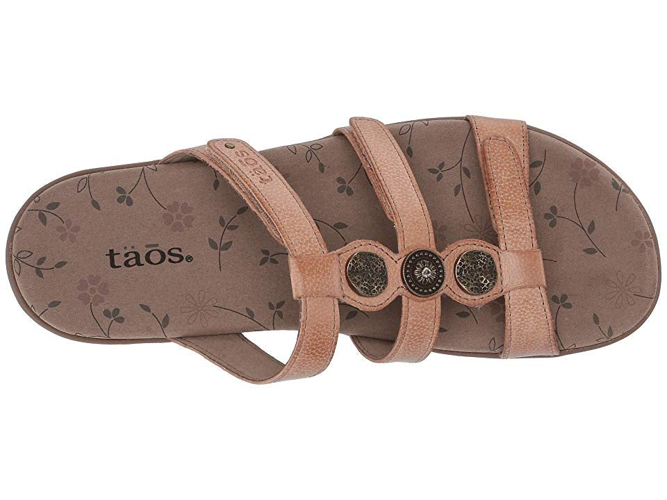 "Taos Prize 3 Women's Sandal Colors ""Nude"" - All Mixed Up"