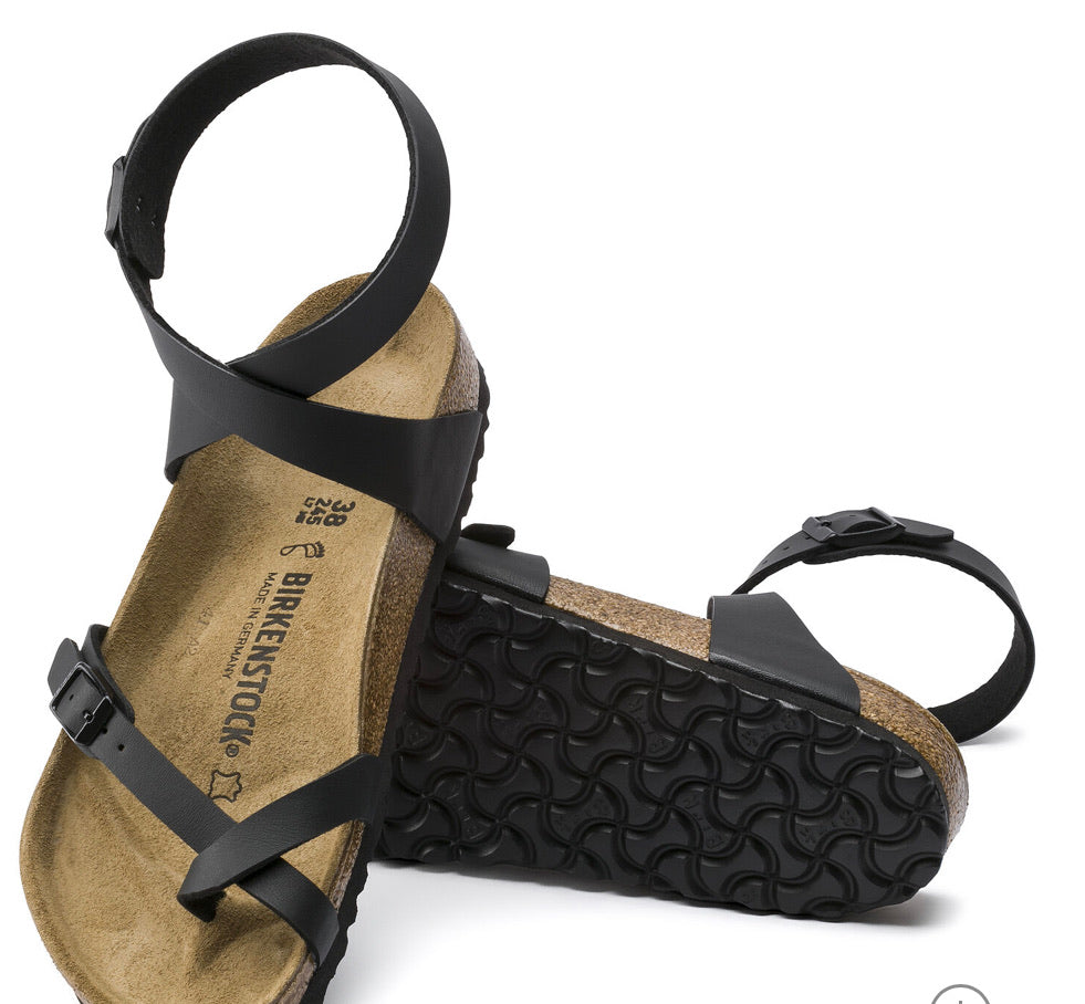 Birkenstock Yara Black Women's Sandal - All Mixed Up