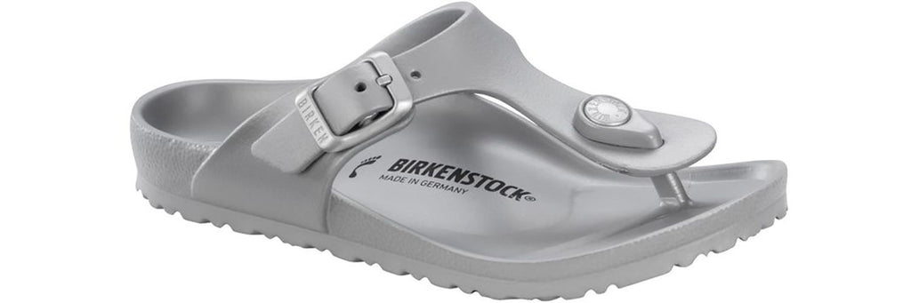 "Birkenstock Kids Gizeh EVA ""Silver"" - All Mixed Up"