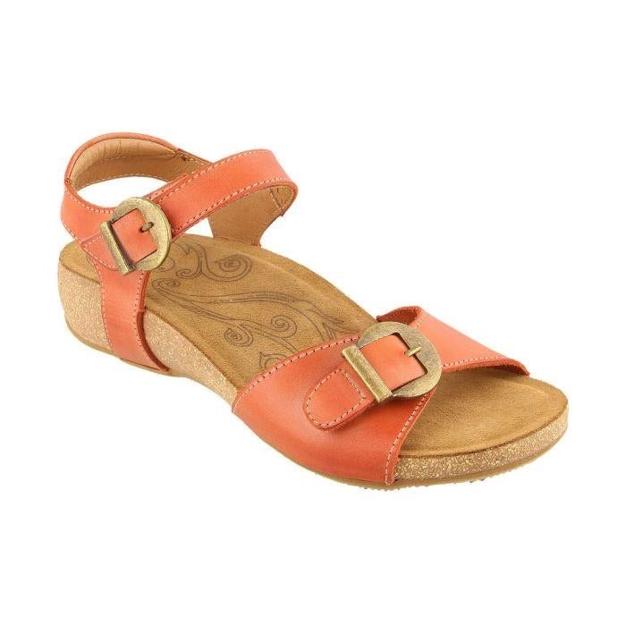 TAOS Women's Taos Vera Sandal - Burnt Orange - All Mixed Up