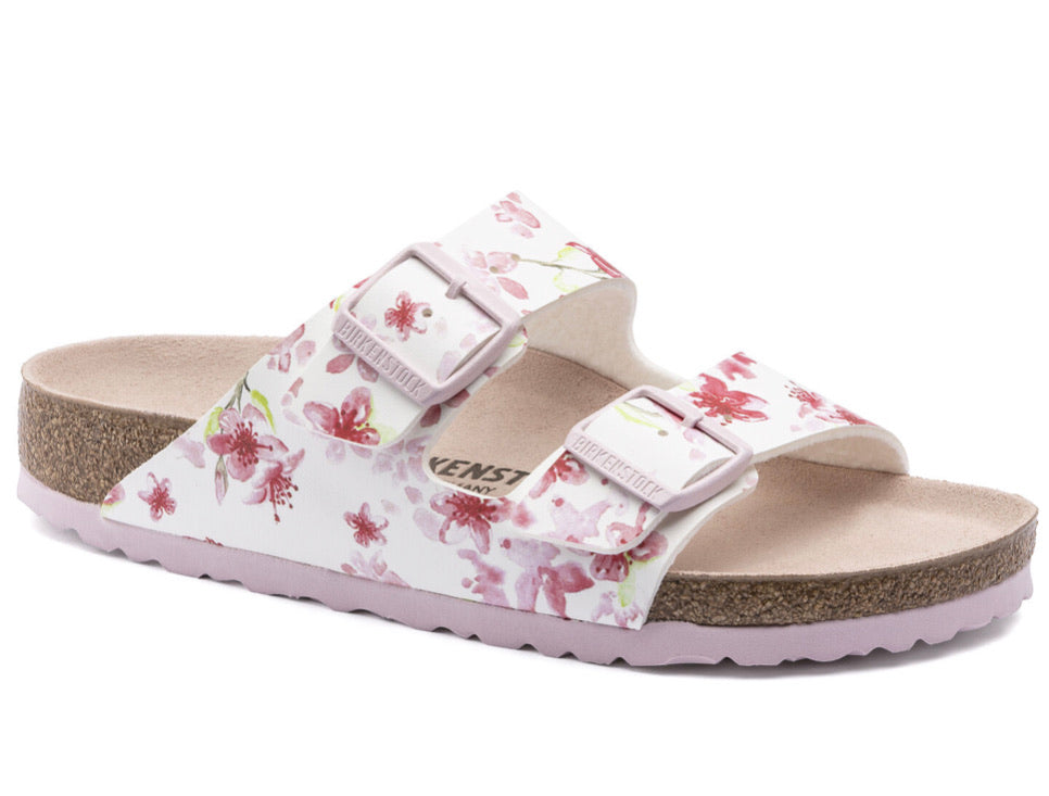 Birkenstock Arizona Blossom White Womens - All Mixed Up