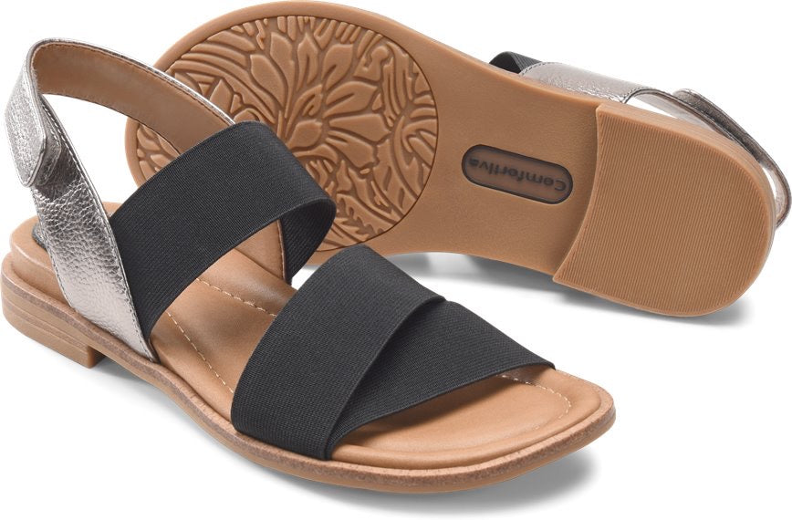 "Comfortiva Dacey Women's Sandal ""Black"" - All Mixed Up"
