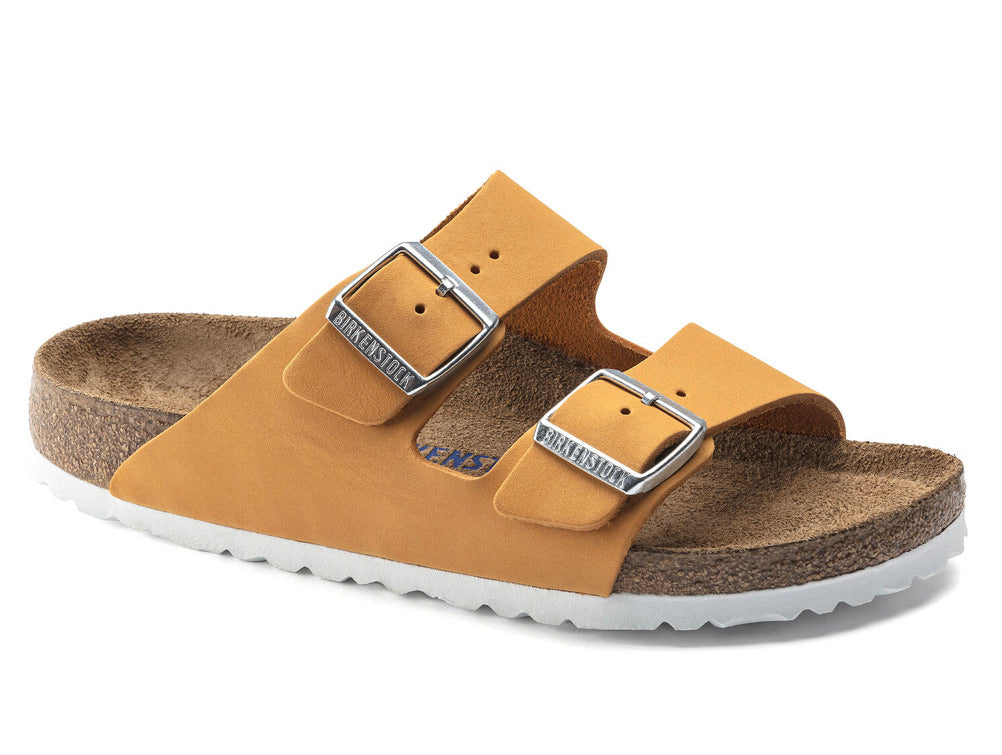 Birkenstock Arizona Women's Apricot SoftFootbed - All Mixed Up