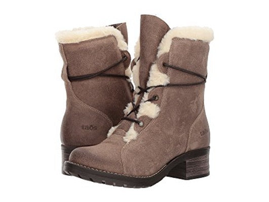 "Taos Footwear Women's Furkle Boot ""Taupe"" - All Mixed Up"
