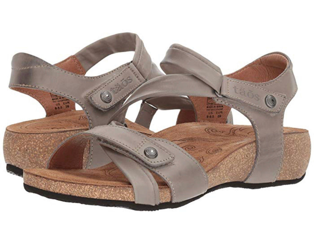 "Taos Universe Sandal Womens ""Grey"" - All Mixed Up"