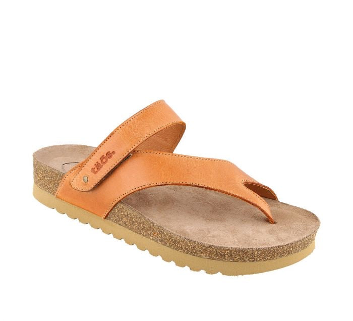 Taos Footwear Lola Cantaloupe Leather Women's - All Mixed Up