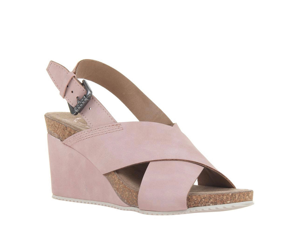 Madeline SIMILE IN NEW PINK WEDGE SANDALS Women's - All Mixed Up