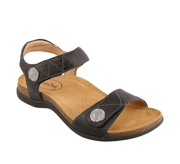"Taos Pioneer ""Black"" Women's Sandal - All Mixed Up"