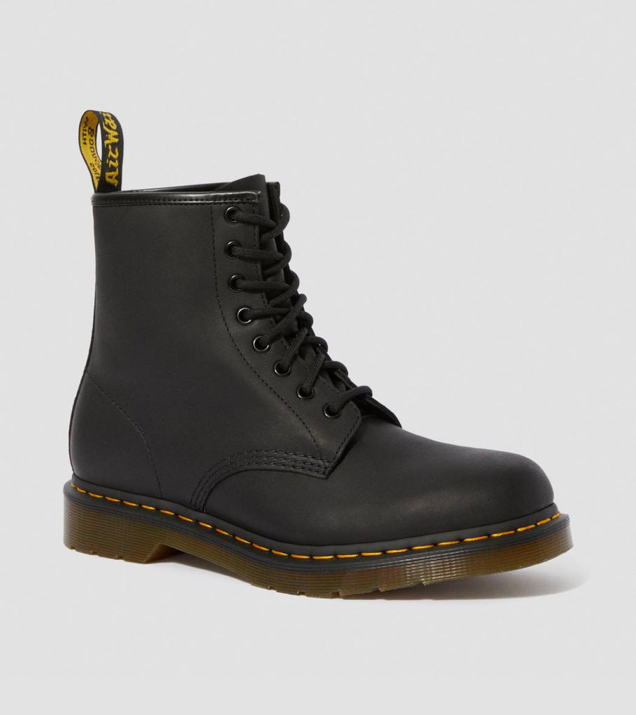 "DR Martens Black 1460 Boot ""Greasy"" - All Mixed Up"