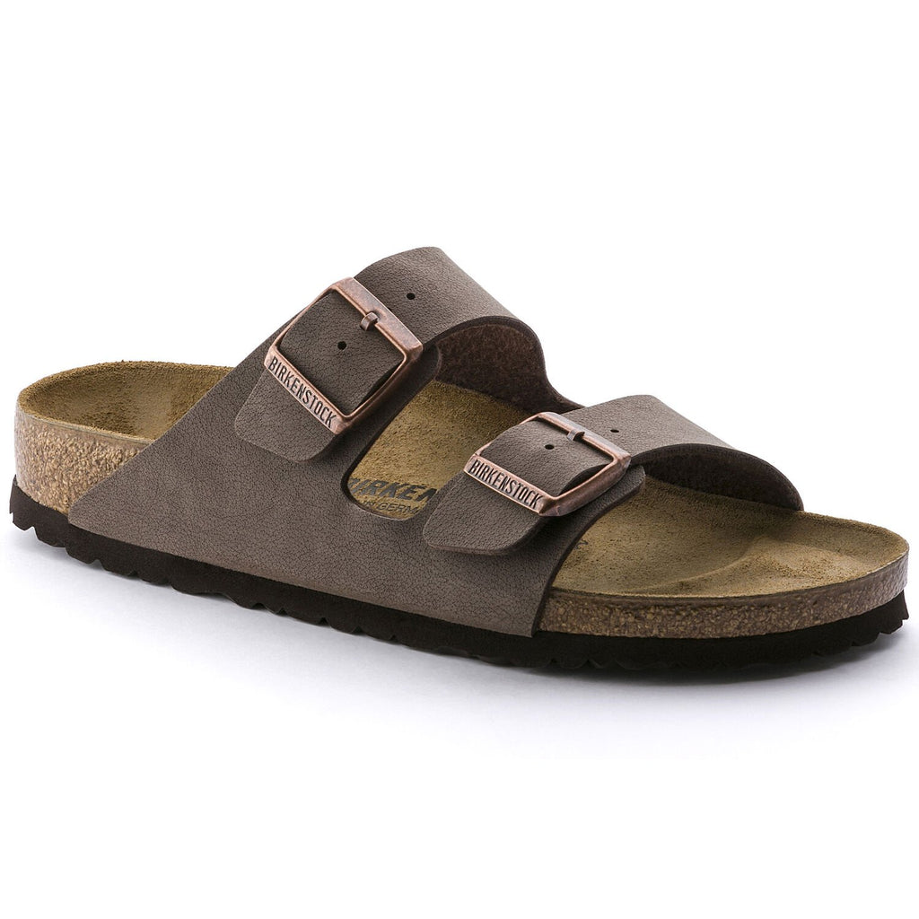 Birkenstock Mocha Arizona Birkibuc Uni-Sex Traditional Footbed - All Mixed Up