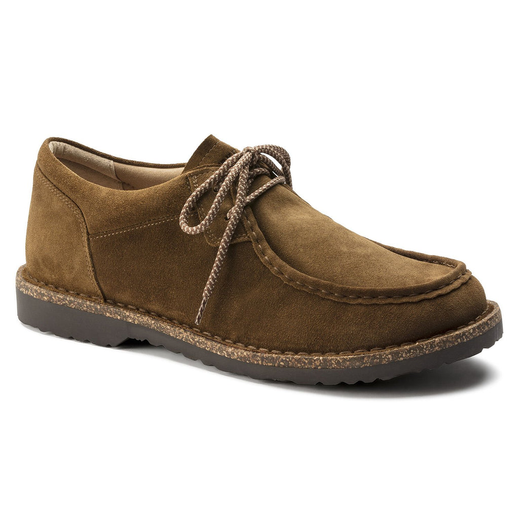 Birkenstock Mens Pasadena Suede Leather Tea Hydrophobic - All Mixed Up
