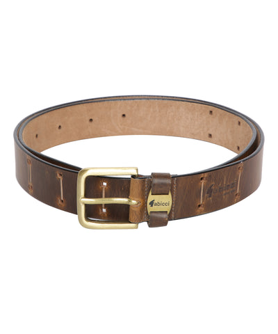 OIL PULLUP BELT (TAN)