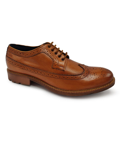 ALVIN LONGWING BROGUE (TAN)