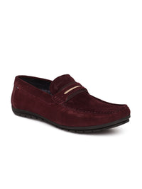 OLLIE CAPTAIN LOAFER (BURGUNDY)