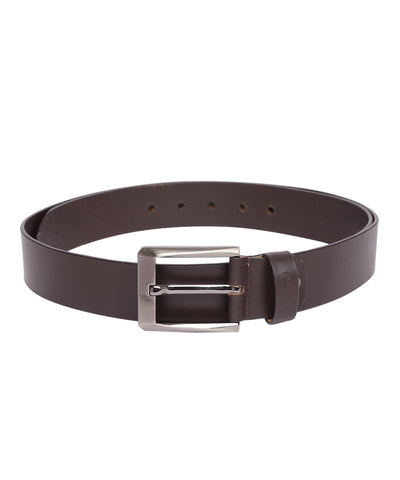GABICCI LEATHER BELT (BROWN)