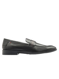 SCOTT SPLIT SADDLE LOAFER (BLACK)