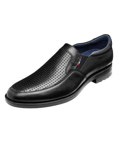 HAROLD APRON LOAFER (BLACK)