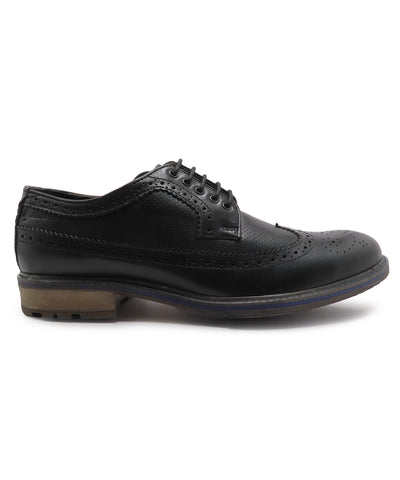 ALVIN LONGWING BROGUE (BLACK)