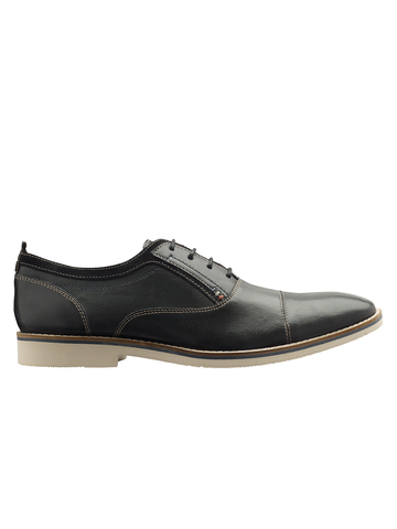 DONNY OXFORD TOE CAP (BLACK)