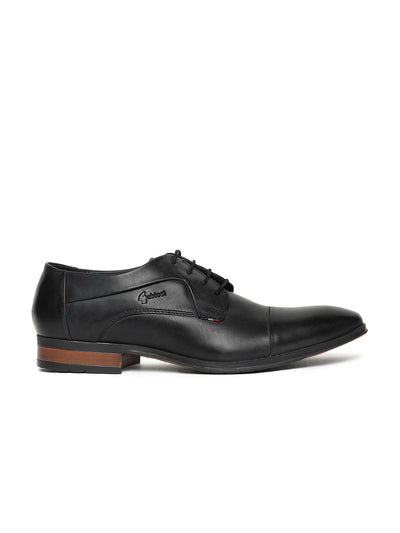 DONNY GRAIN TOE CAP DERBY (BLACK)