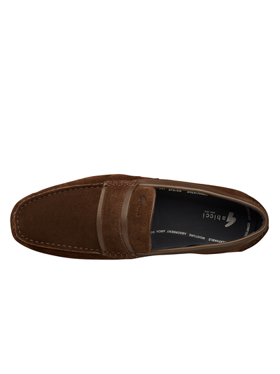 OLLIE SPLIT SADDLE LOAFER (ROYAL OAK)