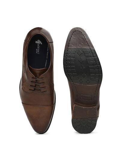 DONNY GRAIN TOE CAP DERBY (TAN)
